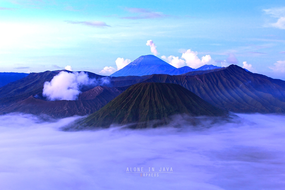 [CR] ++ Orpheus : ALONE IN JAVA ( Kawa Ijen & Bromo ) ++..